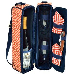 Diamond 2 Person Sunset Wine Carrier