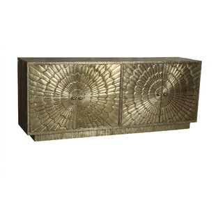 Weeks Metal Cladded Sideboard by Mercer41 2019 Sale