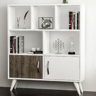 Gautreaux Modern Geometric Bookcase by Ebern Designs