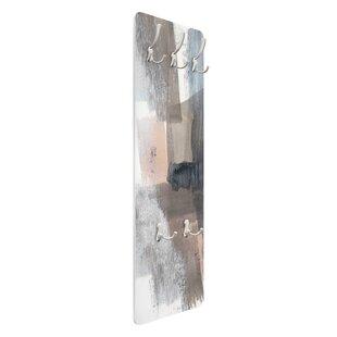 Sepia Shades I Wall Mounted Coat Rack By Symple Stuff