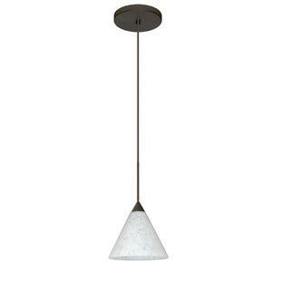 Kani 1 Integrated Bulb Mini Pendant by Besa Lighting