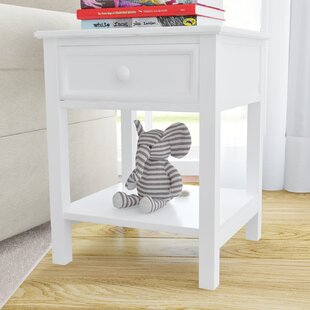 Order Bonneau 1 Drawer Nightstand by Harriet Bee Reviews (2019) & Buyer's Guide