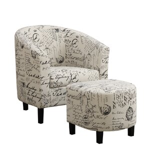 Swell Emory Barrel Chair With Ottoman Inzonedesignstudio Interior Chair Design Inzonedesignstudiocom