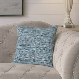 Zuzia Tweed Throw Pillow by Gracie Oaks