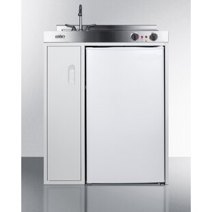 All In One 2.96 cu. ft. Kitchenette with Freezer
