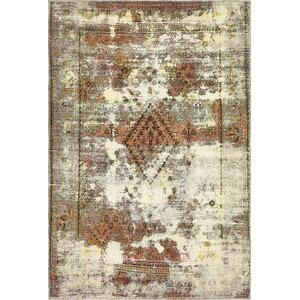 Sela Traditional Vintage Persian Hand Woven Wool Beige Area Rug