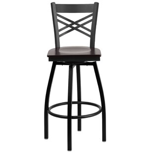 Chafin 30.25 Swivel Bar Stool Winston Porter