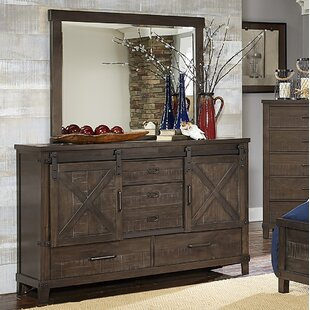 Bayaud 5 Drawer Dresser with Mirror by Gracie Oaks