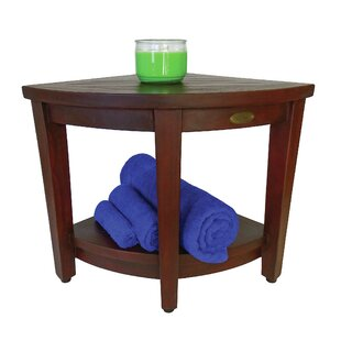 Decoteak Outdoors Teak Side Table