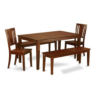 Capri 5 Piece Dining Set by Wooden Importers #2