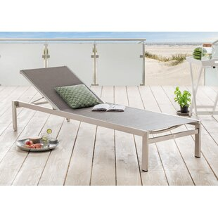 Crigger Reclining Sun Lounger By Mercury Row