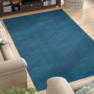 Top Reviews Naples Hand Woven Blue Area Rug By Andover Mills