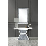 Holley Console Table And Mirror by Andrew Home Studio