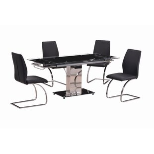 Clouse 5 Piece Dining Set by Orren Ellis