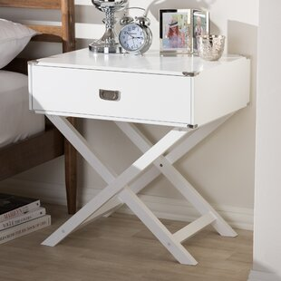 Haffey 1 Drawer Nightstand