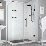 Bromley GS 32 x 72 Rectangle Hinged Shower Enclosure by Aston