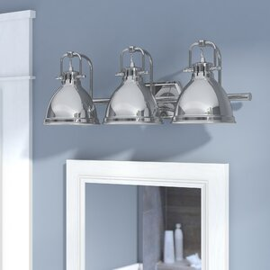 Bodalla 3-Light Metal Vanity Light