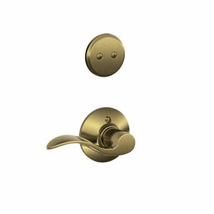 Interior Non-Turning Accent Lever and Interior Inactive Deadbolt Thumbturn by Schlage