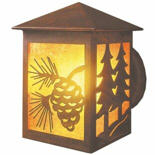 Order Twin Tree 1-Light Outdoor Sconce By Steel Partners