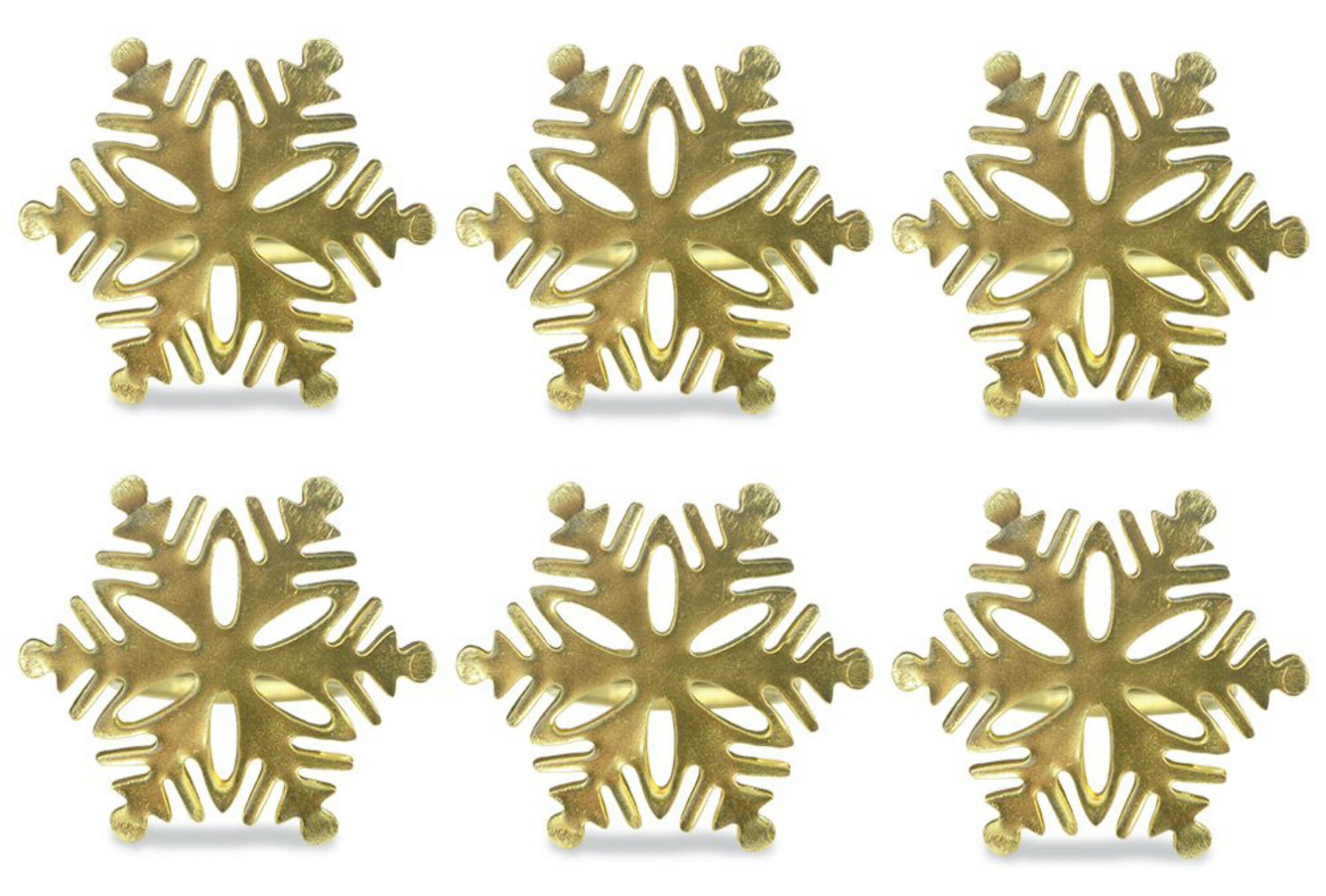 Three Posts Snowflake Napkin Ring Reviews Wayfair