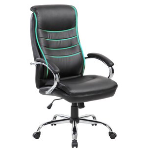Inexpensive Janelle Executive Chair by Symple Stuff Reviews (2019) & Buyer's Guide