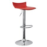 Tamara Adjustable Height Swivel Bar Stool (Set of 2) by Orren Ellis