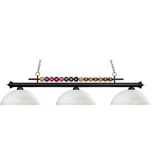 Red Barrel Studio Chapa 3-Light Billiard Light