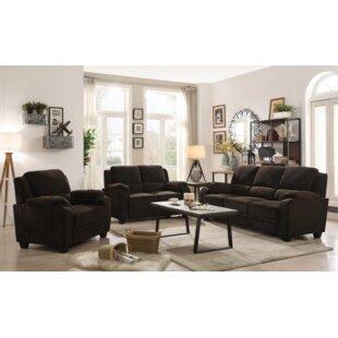 Creamer 3 Piece Living Room Set ByRed Barrel Studio