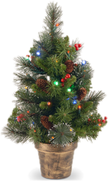 christmas tabletop trees - Green Christmas Decorations