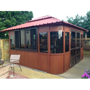 Aspen Ultrawood 13 Ft. W x 13 Ft. D Solid Wood Patio Gazebo by Westview Manufacturing