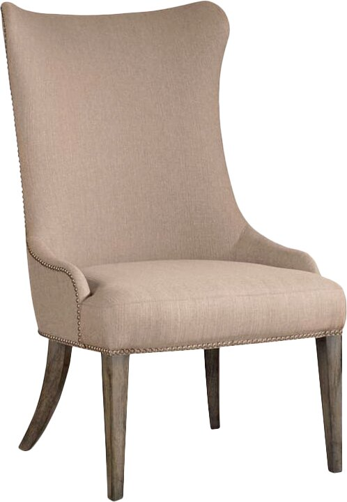 Upholstered Dining Chair. Shop Drew's Honeymoon House! {Kitchen & Dining Room} #PropertyBrothers