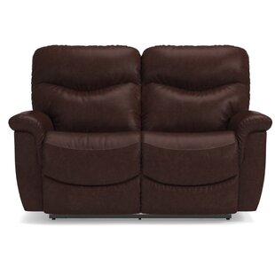 James LA-Z-TIME� Full Reclining Loveseat by La-Z-Boy