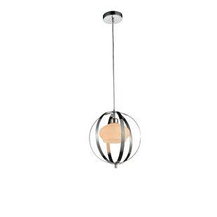 Dahlia 1-Light Globe Pendant by CWI Lighting