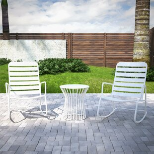 Roberta Outdoor 3 Piece Seating Group