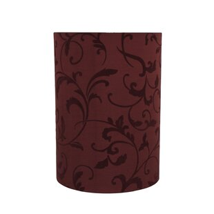 Transitional Spider Construction 8 Fabric Drum Lamp Shade