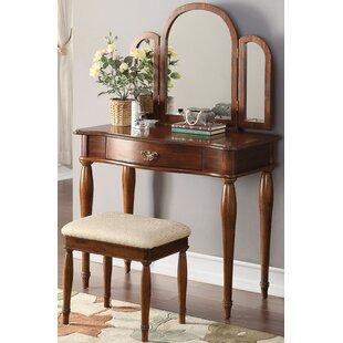 Canora Grey Evesham Vanity Set with Mirror