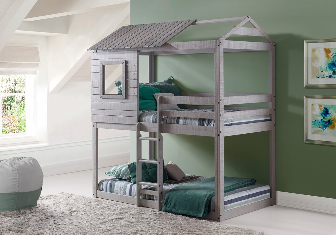 Beadnell Twin over Twin Bunk Bed