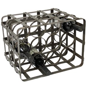 Urban Industrial 12 Bottle Tabletop Wine Rack by EC World Imports