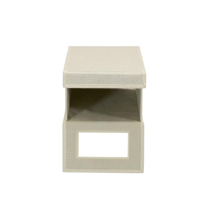 Marvelous Vision Small Fabric Shoe Storage Box Customarchery Wood Chair Design Ideas Customarcherynet