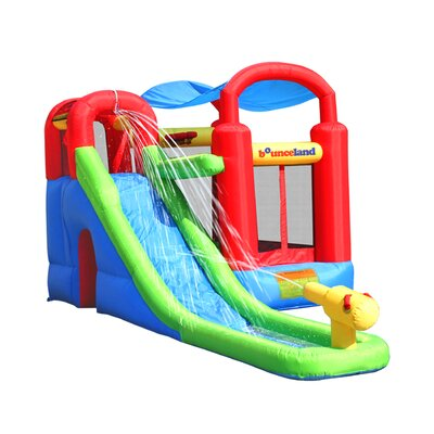Water Slide with Playstation Bounce House Bounceland