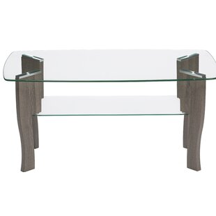 Araujo Mid Century Top Coffee Table by Wrought Studio