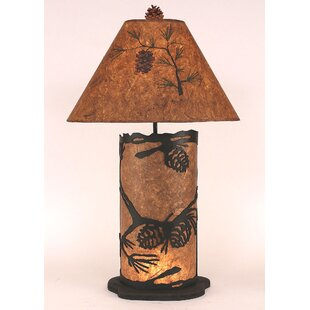 Pine Cone 31.5 Table Lamp