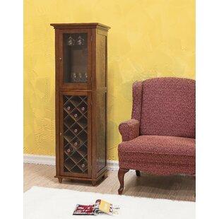 Elegant Home Fashions Napoli VI 16 Bottle Floor Wine Cabinet