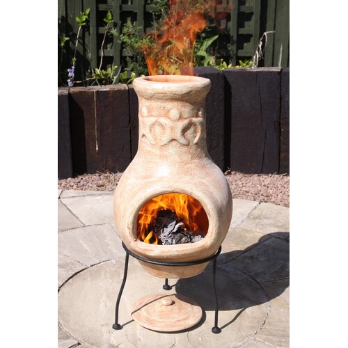 Feuerofen AMIGOS von GARDECO Lehm/Stahl
