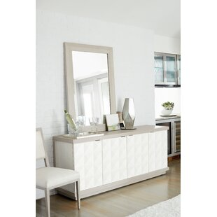 Axiom 6 Drawer Double Dresser with Mirror