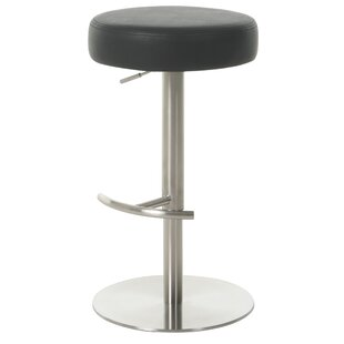 La Fortaleza Adjustable Height Swivel Bar Stool by Impacterra