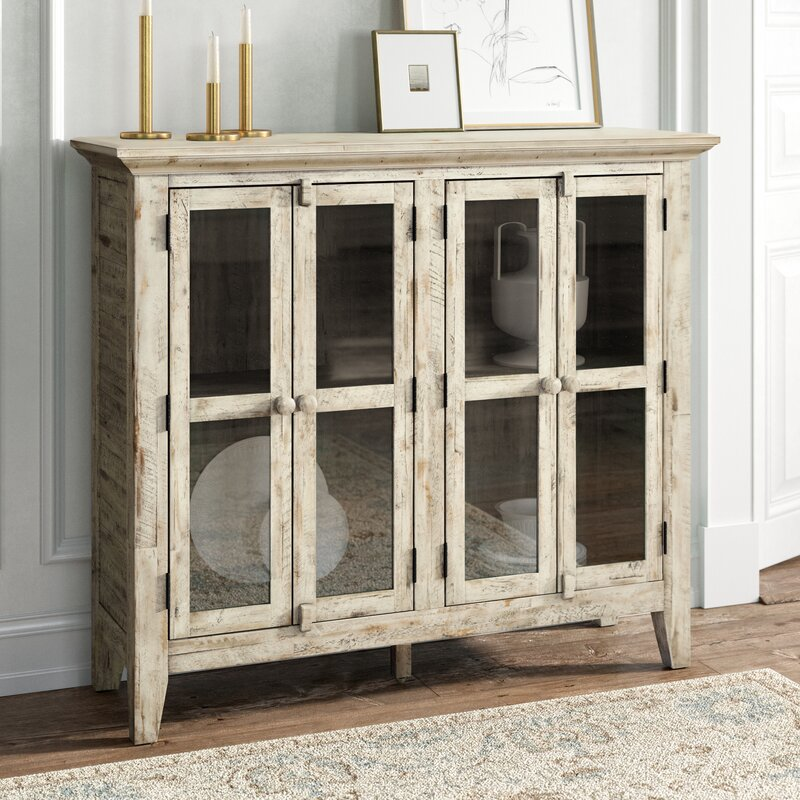 Eau Claire 4 Door Accent Cabinet by Kelly Clarkson Home