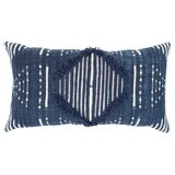 Cotton Striped Lumbar Pillow