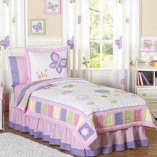 Butterfly 3 Piece Comforter Set