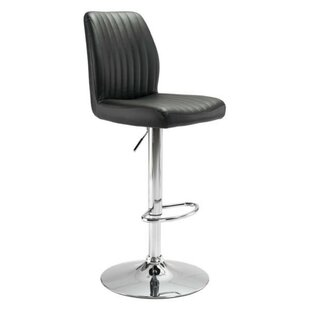Sherley Adjustable Height Bar Stool Orren Ellis